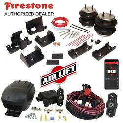 Firestone 2560 Ride-rite Air Bags And Airlift Compressor For 13-18 Ram 3500 4x4