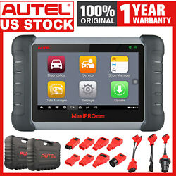 Autel Mp808k Active Test Obd2 All Systems Scanner Auto Diagnostic Car Connectors