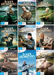 River Monsters Complete Season 1-9 1 2 3 4 5 6 7 8 9 Dvd Set Fishing Angling New