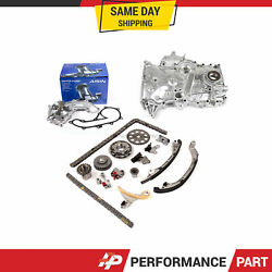 Timing Chain Kit Oil Pump Aisin Water Pump For 05-15 Toyota Tacoma 2.7l 2trfe