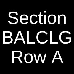 3 Tickets Hamilton 6720 Southam Hall at National Arts Centre Ottawa ON