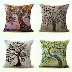 set of 4 cushion kitchen chair bedroom tree of life cushion covers