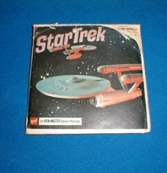View-master Star Trek The Omega Glory B 499 - 3 Reel Set W/booklet And Sleeve