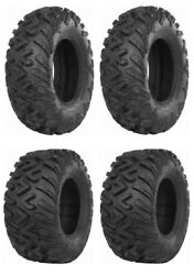 New Complete Set Of Itp Terra Cross R/t Xd Tires - 2002-2008 Yamaha 660 Grizzly
