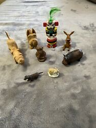 Vintage Lot 1950s Knick Knacks Chachkies Trinkets Collectibles Antique Rare