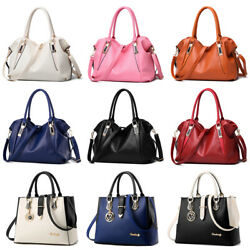 Women Messenger Handbag Shoulder Bag Ladies PU Tote Satchel Crossbody Purse $19.98