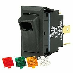 Bep Spst One And 4 Covers Off/on Rocker Switches And Carriers 1001716