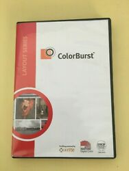 Efi Colorburst Rip Layout Series V7.70 With Dongle For Printers Up To 64