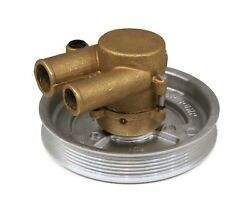 Complete Water Pump For Volvo Penta 4.3l, 5.0l, 5.7l With Serpentine Belt Pulley