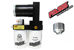 Fass Titanium 100gph Diesel Fuel Pump And Fuel Filter Remove Kit For Duramax 6.6l
