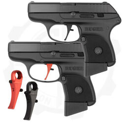 Peacemaker Semi Flat Faced Short Stroke Trigger For Ruger Lcp Pistols - Galloway
