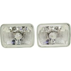 Headlight Lamp Left-and-right For Chevy Citation Express Van Suburban Lh And Rh Ii
