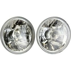 Headlight Lamp Left-and-right For Mercedes Olds Pickup 280 Ninety Eight Cutlass
