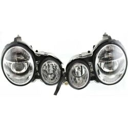 Headlight Lamp Left-and-right For Mercedes E Class Lh And Rh Mercedes-benz E320