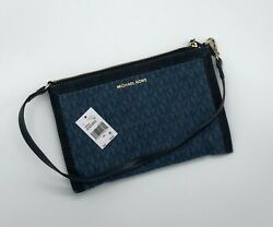 Michael Kors Clutch Bag Jeans Blue 9002 $45.00