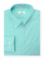 Big And Tall Menand039s Dress Shirt By Cooper And Stewart   Mint Fine Line Stripe