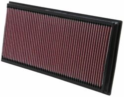 Kandn 33-2857 For Audi Q7 Washable Reusable High Flow Drop In Panel Air Filter