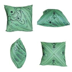 Hermandegraves Silk Scarf Printed Collectible Throw Pillow