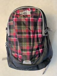 The Northface Backpack Women#x27;s Wasatch Perfect UC Red and Black Plaid $72.00