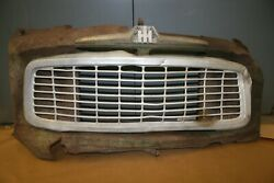 Genuine 1959 International Harvester Grill And Part Of Front Clip Wall Hanger