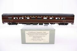Challenger Imports Brass Ho Scale Pennsylvania Railroad Budd Dining Car 2005.1 A