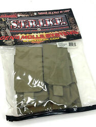 Blackhawk Strike Molle Double Mag Pouch - Holds 4 Mags - Coyote Tan