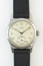 Longines Special Ref 171 Small Seccond Manual Vintage Watch 1945and039s Overhauled