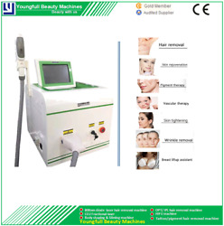 Hair Removal Machine Ipl Painless Fast Treatment Ance Spot Laser Shr Opt 2000w