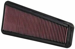 Kandn 33-2281 For Toyota Land Cruiser Washable Reusable Drop In Panel Air Filter