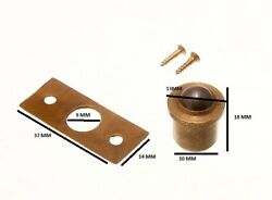 Roller Ball Catch And Keeper Solid Brass Body 10mm + Screws Pack 100