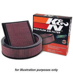 Kandn 33-2966 For Opel Astra J High Performance Washable Drop In Panel Air Filter