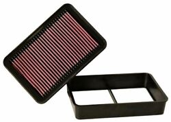 Kandn 33-2392 For Mitsubishi Lancer Performance Washable Drop In Panel Air Filter