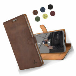 For Samsung Galaxy S20 Case Genuine Leather Wallet with Viewing Stand and Card