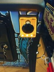Orange Lighted Shooter Rod Plate Cover For The Simpsons Pinball Machine Led Mod