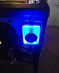 Blue Lighted Shooter Rod Plate Cover For Stern Avatar Pinball Machine Led Mod