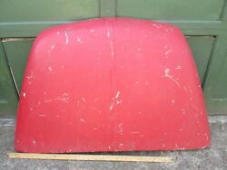 Vintage Early Fiat 600 Or Zastava 750 Lid Or Hood Very Good Preserved Condition