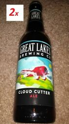 2 Empty Bottles Cloud Cutter Ale Cleveland National Air Races Gee Bee R1