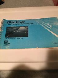 Ohio River Navigation Charts 1983 Foster Kentucky To Martinsville Wv