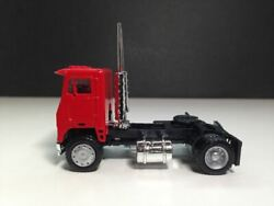 Ho 187 Promotex 25236 White Commander Day Cab Single Axle Tractor - Red