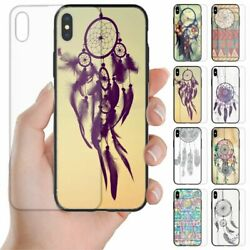 For Oppo Phone Series - Dream Catcher Theme Print Tempered Glass Back Case 1