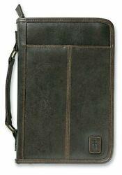 Aviator Cross Leather Look Brown XL Book and Bible Cover Protective Case X Large $28.09