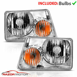 01-09 Ford Ranger Left Right Oe Direct Replacement Headlights Lamp Assembly Pair
