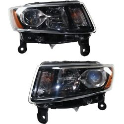 Headlight Lamp Left-and-right Ch2503308, Ch2502308 68236108ae, 68236109ae