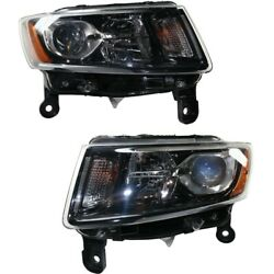 Headlight Lamp Left-and-right Ch2503308 Ch2502308 68236108ae 68236109ae