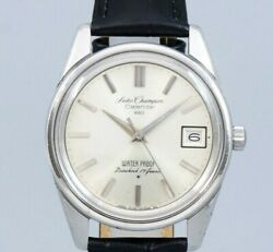 Seiko Champion Calendar 860 Ref.86898 Manual Winding Vintage Watch 1964and039s