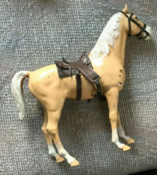 Vintage Marx Johnny West Horse Thunderbolt With Accessories Marx 1960s