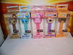 Funko Pop Pez Ad Icons Monster Cereals Set 5 Boo Berry Yummy Mummy Fruit Brute +
