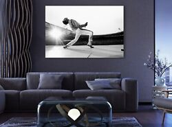 Freddie Mercury Last Stage Canvas Decor Queen Band Art Music Print Room Painting