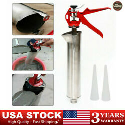Us Mortar Pointing Grouting Gun Sprayer Applicator Tool For Cement Lime Nozzle