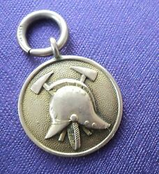 Early 9ct Gold Fire Brigade Medal / Fob - National Steamer Competition 1914